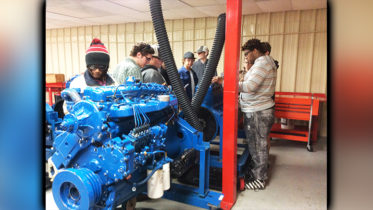 Pokomoke High School Warriors Visit ATI for Tour and Demonstrations