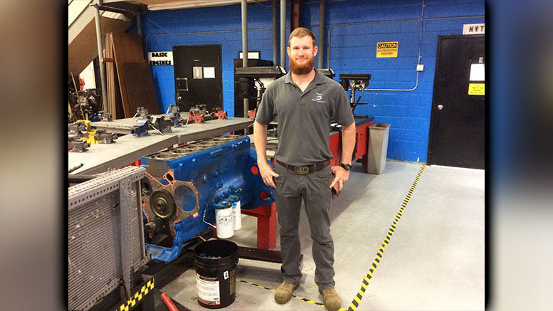 Diesel Technician has Big Dreams for the Future