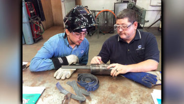 Welding Instructors Bring their Talent and Skills to ATI